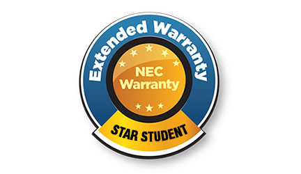 NEC Star Student Warranty